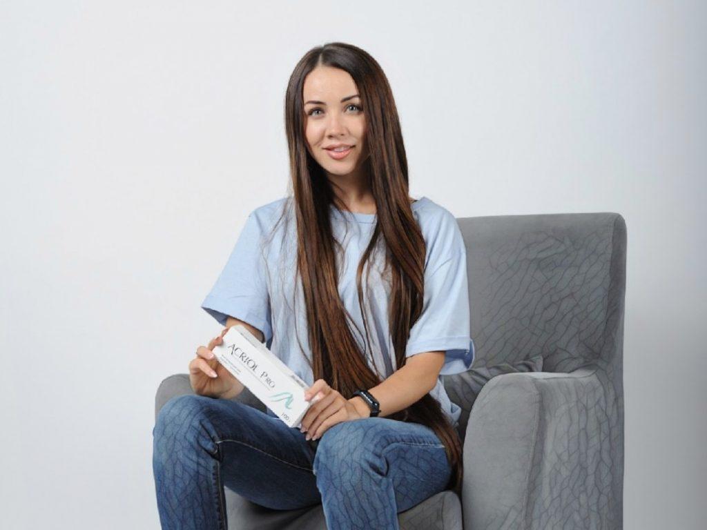 Фото девушки, которая купила крем акриол в Самаре
